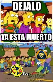 Pumas Vs America Memes - los memes de la goleada de pumas al am礬rica