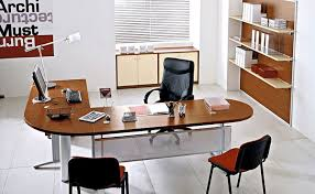 Cool Office Space Ideas by Cool Wooden Office Desk Design And Alluring Wooden Chair Ideas