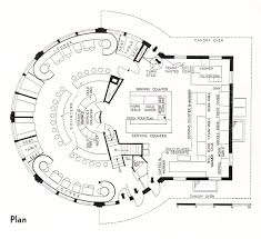 plans for a small cabin red circle food shop 1937 circular architecture pinterest