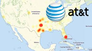 Fla Map At U0026t Suffering Massive Outages In S Fla Texas