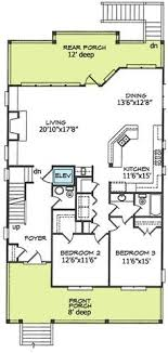 beach house plans narrow lot plan 15035nc narrow lot beach house plan beach house plans beach