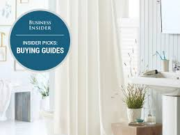 best curtains the best shower curtains you can buy business insider