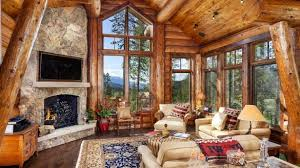 luxury log home interiors great mountain tlc luxury cabin broken bow okla vrbo designs