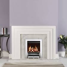 logic he gas fire with spanish front balanced flue a bell