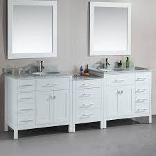 Double Sink Bathroom Decorating Ideas Bathroom White Double Sink Vanities Vanity 55 X 19 Navpa2016