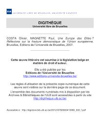 magistrat du si e d inition introduction l europe des élites pdf available