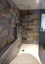 bathroom feature tile ideas wood tile bathroom wall zauto club
