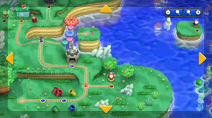 Super Mario World Map by Tons Of New Footage Including More Of The World Map U2013 Mario Party