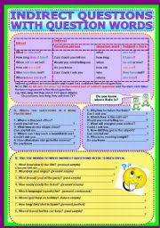 english worksheets question words worksheets page 2