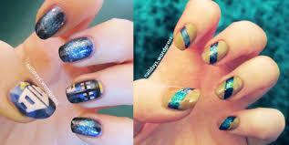galaxy blue naildays