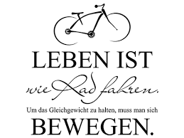 sprüche fahrrad wandtattoo leben ist wie rad fahren wandtattoo de