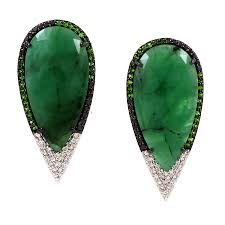 emerald drop emerald drop earrings