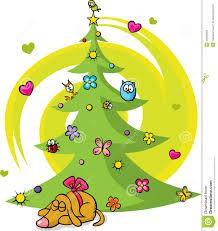 dog christmas trees christmas lights decoration