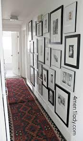 displaying kids art and a hallway addition