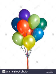 bunch of balloons a cut out of a bunch of balloons stock photo 66582408 alamy