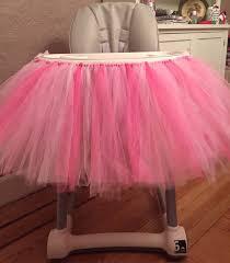 tutu chair covers highchair tutu high chair tutu pink high chair tutu high