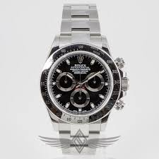 stainless steel black bracelet images Rolex daytona stainless steel black dial 40mm oyster bracelet jpg