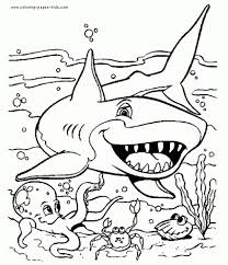 mermaid realistic sea animal coloring pages realistic ocean