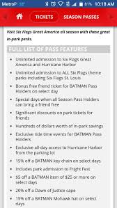 Six Flags Com Pass 2017 Six Flags Great America Season Pass For Sale In Russell Il