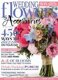 wedding flowers magazine wedding flowers magazine subscription isubscribe