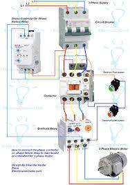 2 wire control circuit diagram motor basics controlling inside
