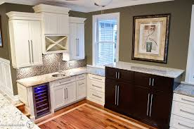 Cabinet For Mini Refrigerator Coffee Bar And Mini Fridge In Master Bat Home Bar Transitional