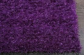 Lilac Rug Rugsville Silky Shag Purple Rug 10903 Rugsville Com