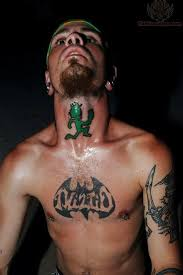 tattoo neck care juggalos icp tattoo on neck