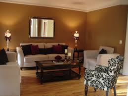 Gray And Brown Paint Scheme Captivating Home Interior Decor For Charming Small Living Room