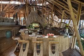 dramatic bamboo house in bali idesignarch interior design for