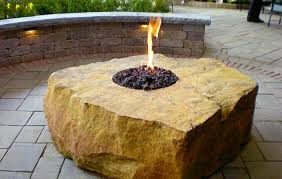 Unique Fire Pits by Fire Features Custom Landscaping