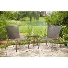 hampton bay all weather wicker pouf patio ottoman 2 pack chairs