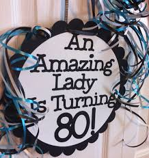 Personalized Party Decorations 80th Birthday Party Decorations Giant Personalized Party Signs