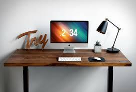 sway height adjustable desk