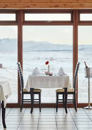 Luxury Gourmet Restaurant  Romantic Dining In Iceland - Restaurant dining room furniture
