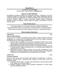Landscaping Resume Samples by Parks And Facility Manager Resume Template Premium Resume