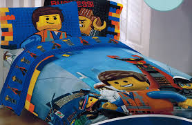 Lego Bedding Set The Lego Emmet Sheet And Comforter Set Co Uk