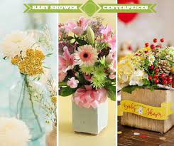 How To Make A Flower Centerpiece Arrangements by 41 Easy To Make Baby Shower Centerpieces Cheekytummy