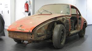1964 porsche 911 barn find now parked at the porsche museum photo