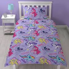 girls lilac bedding my little pony single duvet cover sets girls bedroom bedding
