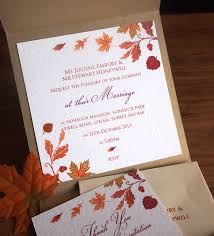 autumn wedding invitations archive autumn wedding paper pleasures stationery fall colored