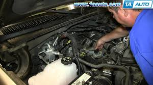 how to install replace engine knock sensor 2000 06 5 3l silverado