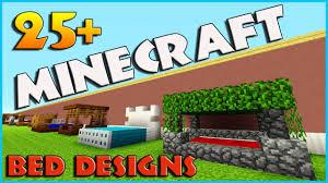 Minecraft Medieval Furniture Ideas 25 Bed Designs And Ideas Minecraft Minecraft Furniture Ideas