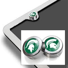 msu alumni license plate frame michigan state apparel michigan state clothing msu