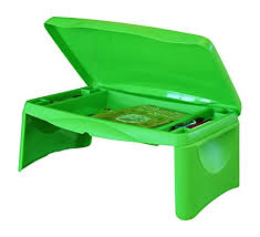 portable lap desk with storage kids folding 17 x 11 lap desk with storage green durable