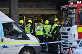 Fishbar Gallery Two Hurt As Range Rover Ploughs Into Acklam Fish Bar