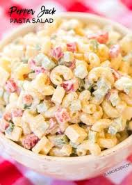 Potluck Si This Pasta Salad Is Of Delicious Salami Cheese Fresh