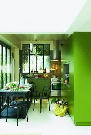 meuble cuisine vert couleur dans la cuisine osez le vert pomme vert gazon vert