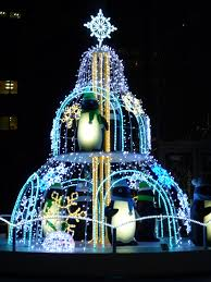 Penguin Christmas Decorations Outdoor by Penguin Christmas Tree At Shinjuku Tokyo Christmas Pinterest