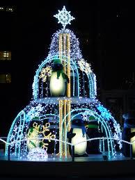 Christmas Lights Installation Toronto by Penguin Christmas Tree At Shinjuku Tokyo Christmas Pinterest